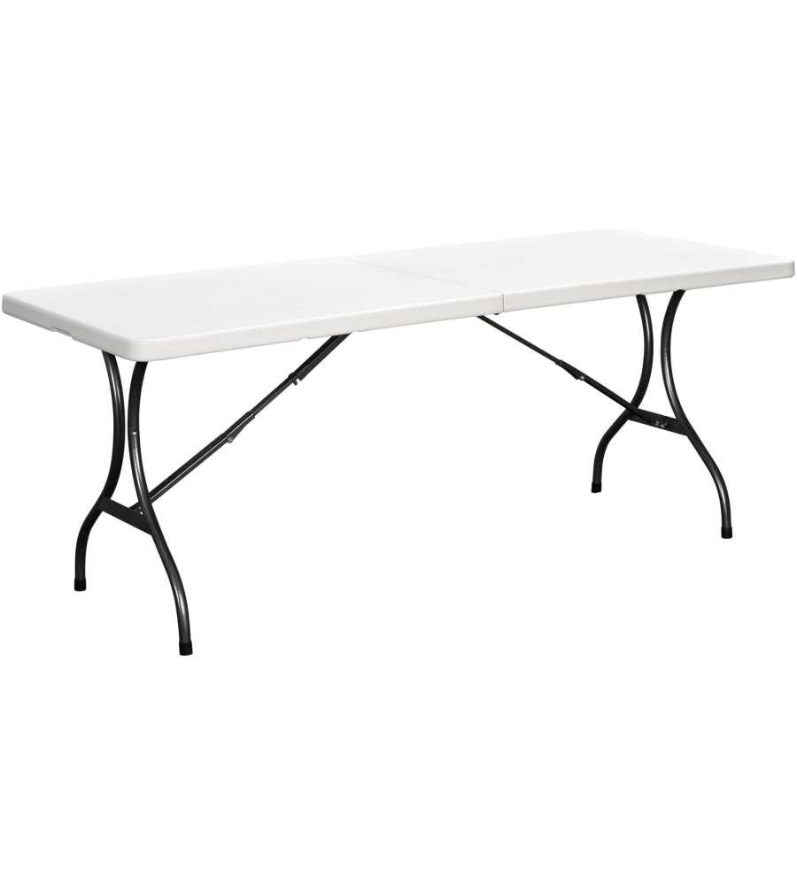 Offerta tavolo pieghevole da esterno picnic bianco - Tavolo esterno pieghevole ...