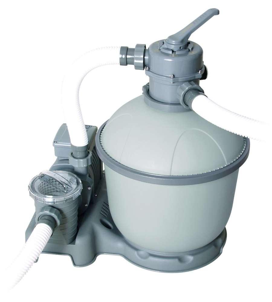 Filtro a sabbia flowclear filtraggio da adatto for Pompe e filtri per laghetti da giardino