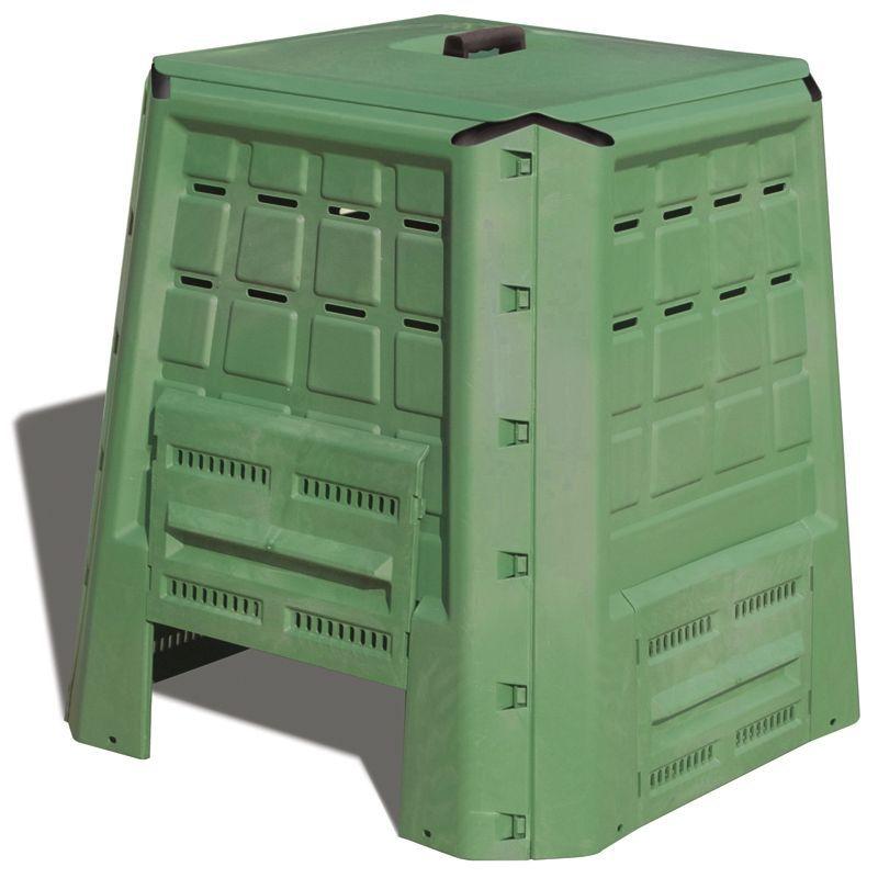 Offerta composter 380lt in polipropilene for C e un giardino e li che ti aspettero