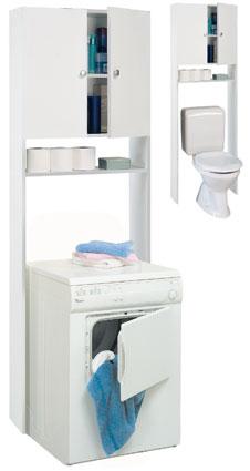 offerta mob bagno bikini bianco 2porte nicchia 66x. Black Bedroom Furniture Sets. Home Design Ideas