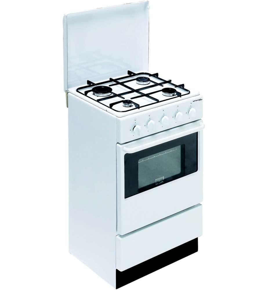 cucina 4 fuochi a gas - bi910ya/n- bianca. - Cucina Quattro Fuochi
