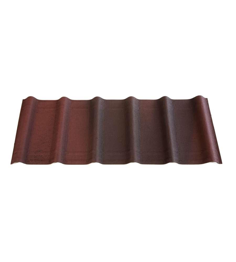 Onduline tegola onduvilla rosso sfumato 3d for Onduline plastica