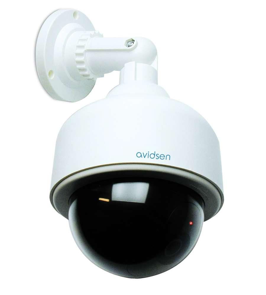 Finta telecamera di sorveglianza da esterno dome for Telecamere da esterno casa