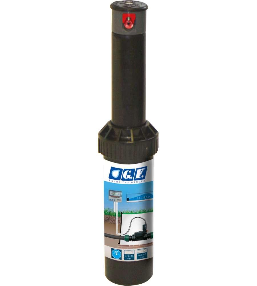 Irrigatore turbina alzo 12 5 cm ad arco regolabile for Eurobrico arco