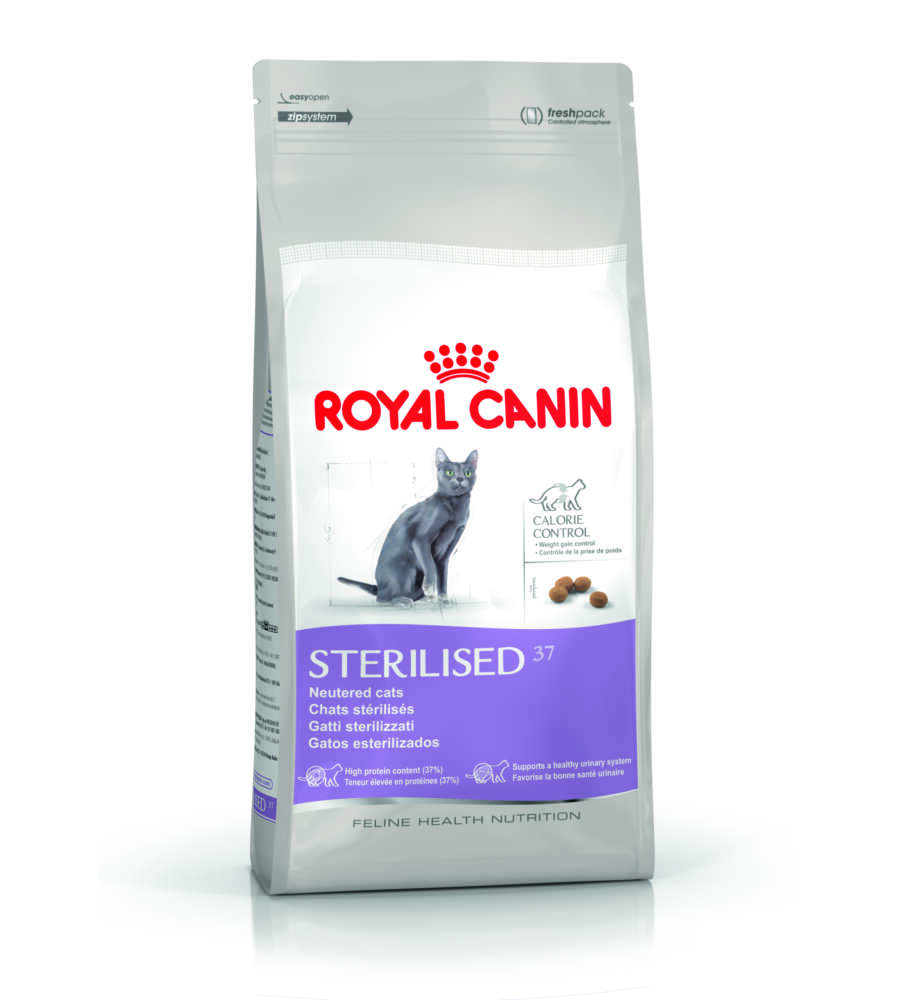 royal canin sterilised 37 crocchette per gatti sterilizzati. Black Bedroom Furniture Sets. Home Design Ideas