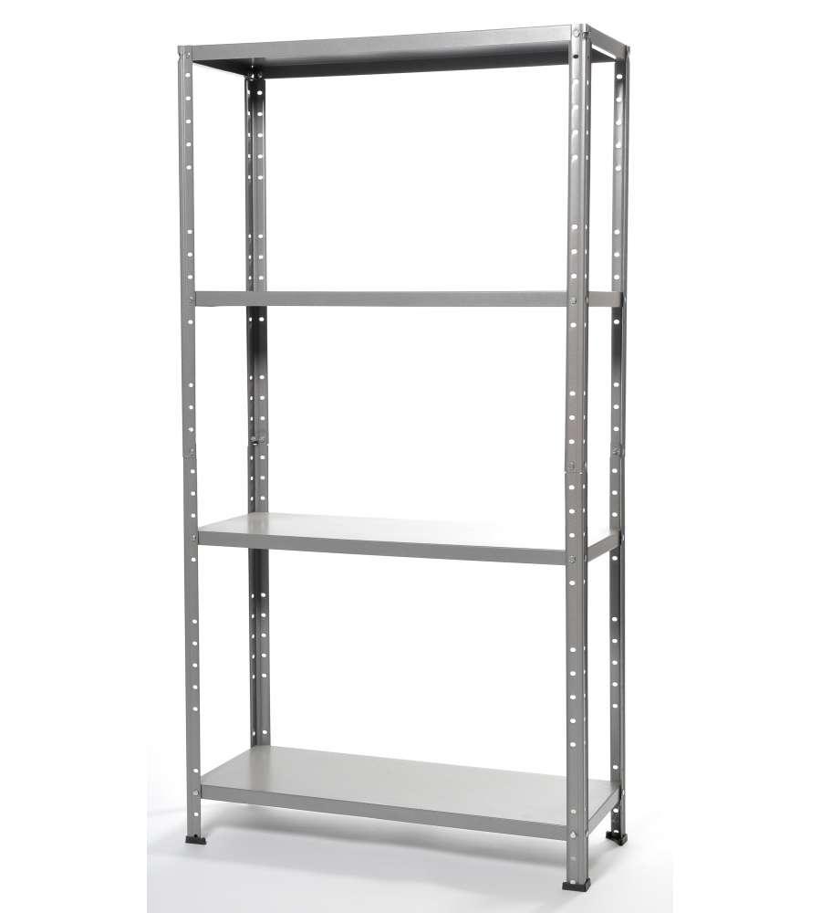 Scaffali Metallici In Kit.Offerta Scaffalatura In Kit Con 4 Ripiani 75x30x136h Cm