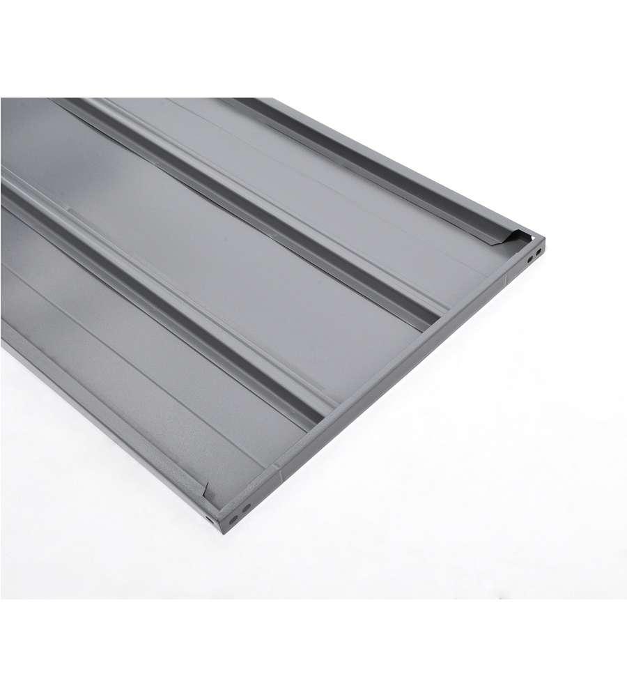Angolari In Ferro Per Scaffali.Ripiano In Metallo Per Scaffali 120x60 Cm Grigio