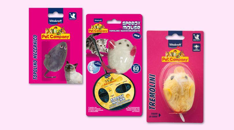 Speedy Mouse Con Telecomando
