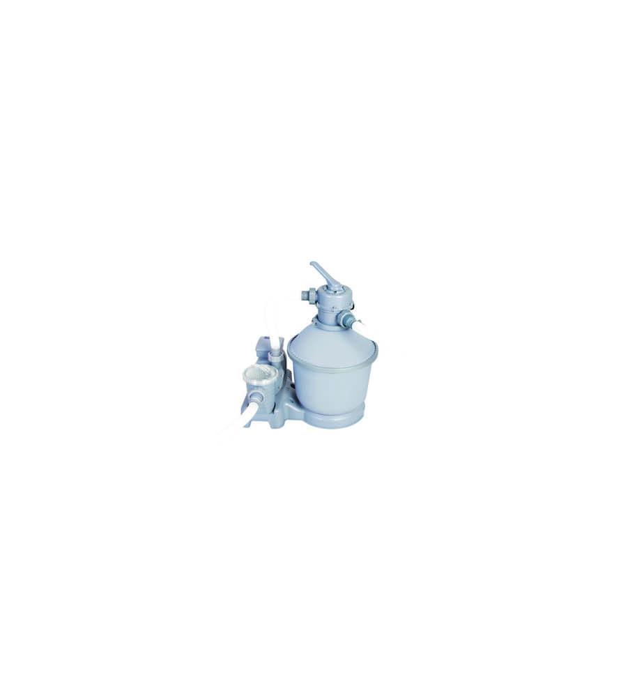 Filtro sabbia 220 240v filtraggio da 3 785 lt ora per for Pompe e filtri per laghetti da giardino