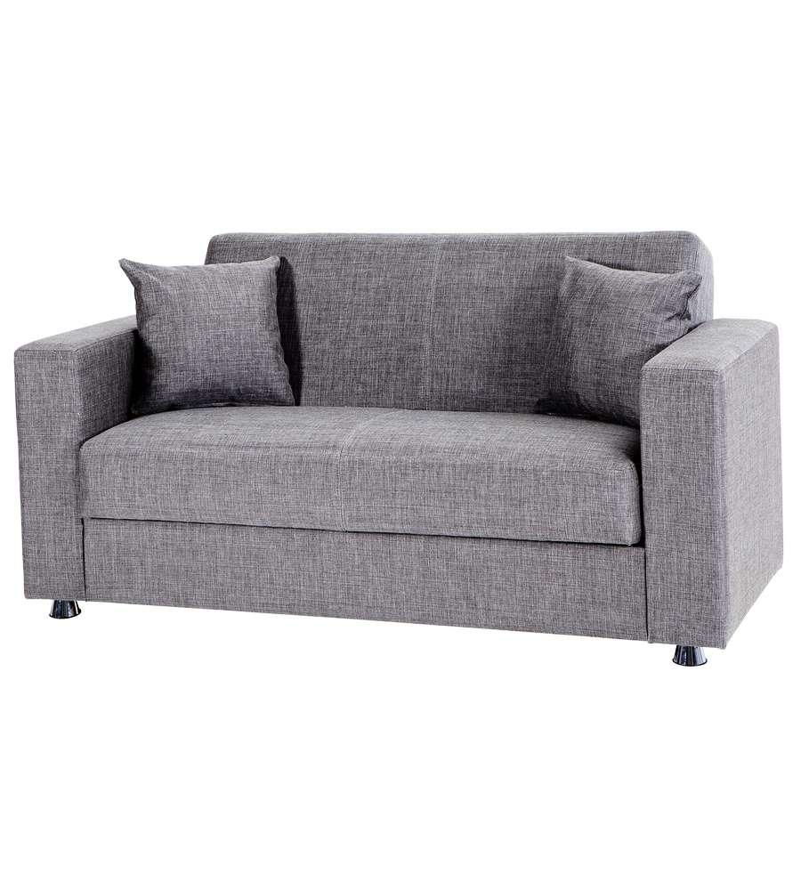 Divano letto tokyo 2 posti grigio - Divano letto 2 posti divani e divani ...