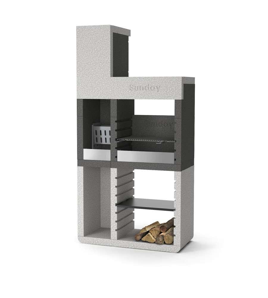 Barbecue sunday one tower in muratura per esterno - Scale per esterno in muratura ...
