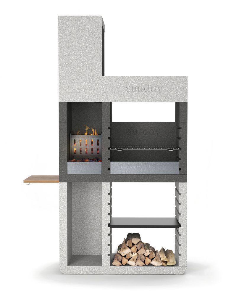 barbecue sunday one tower in muratura per esterno. Black Bedroom Furniture Sets. Home Design Ideas