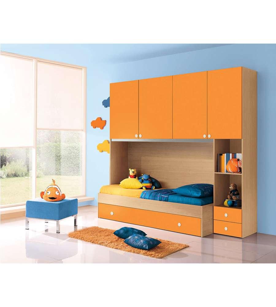 Camera reversibile colore acero e arancio - Colore camere da letto ...