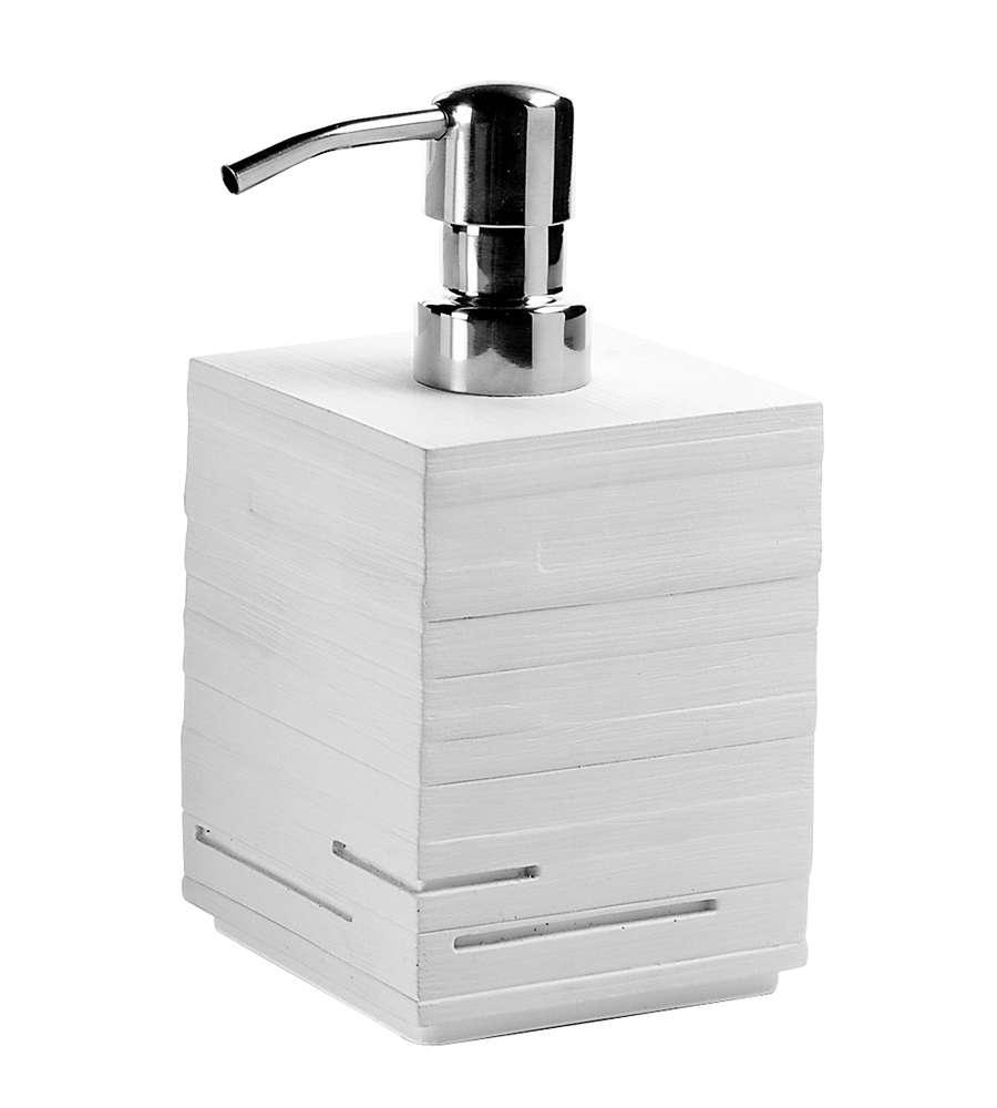 Dosasapone quadrotto bianco - Oggettistica bagno ...