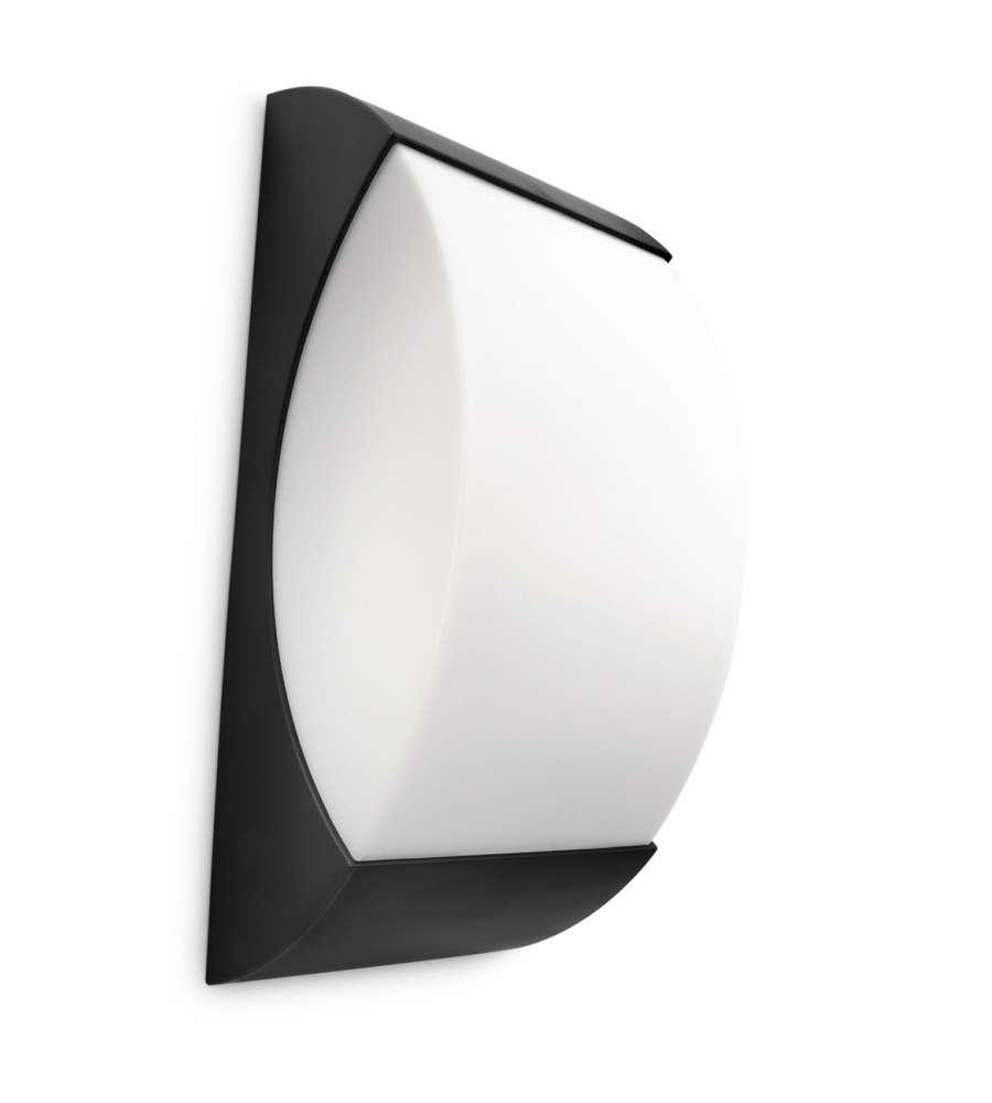 Philips starry applique nera 20w - Philips lampade esterno ...