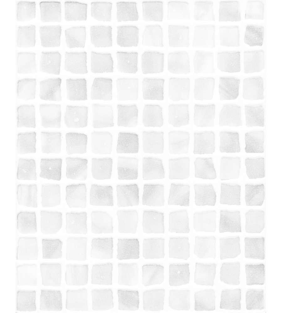 Piastrella Per Bagno Murano Bianco 20x25 Cm