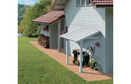 Tettoia laterale in pvc per casette grosfillex da 7 5 e - Casette da giardino in pvc ...