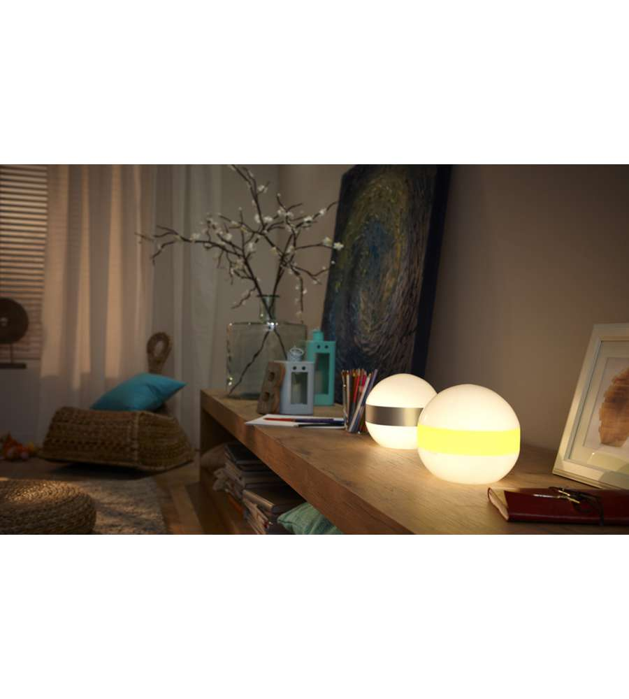 Philips lampada da tavolo cole grigia 25w 1 x 15w - Lampada da tavolo philips ...