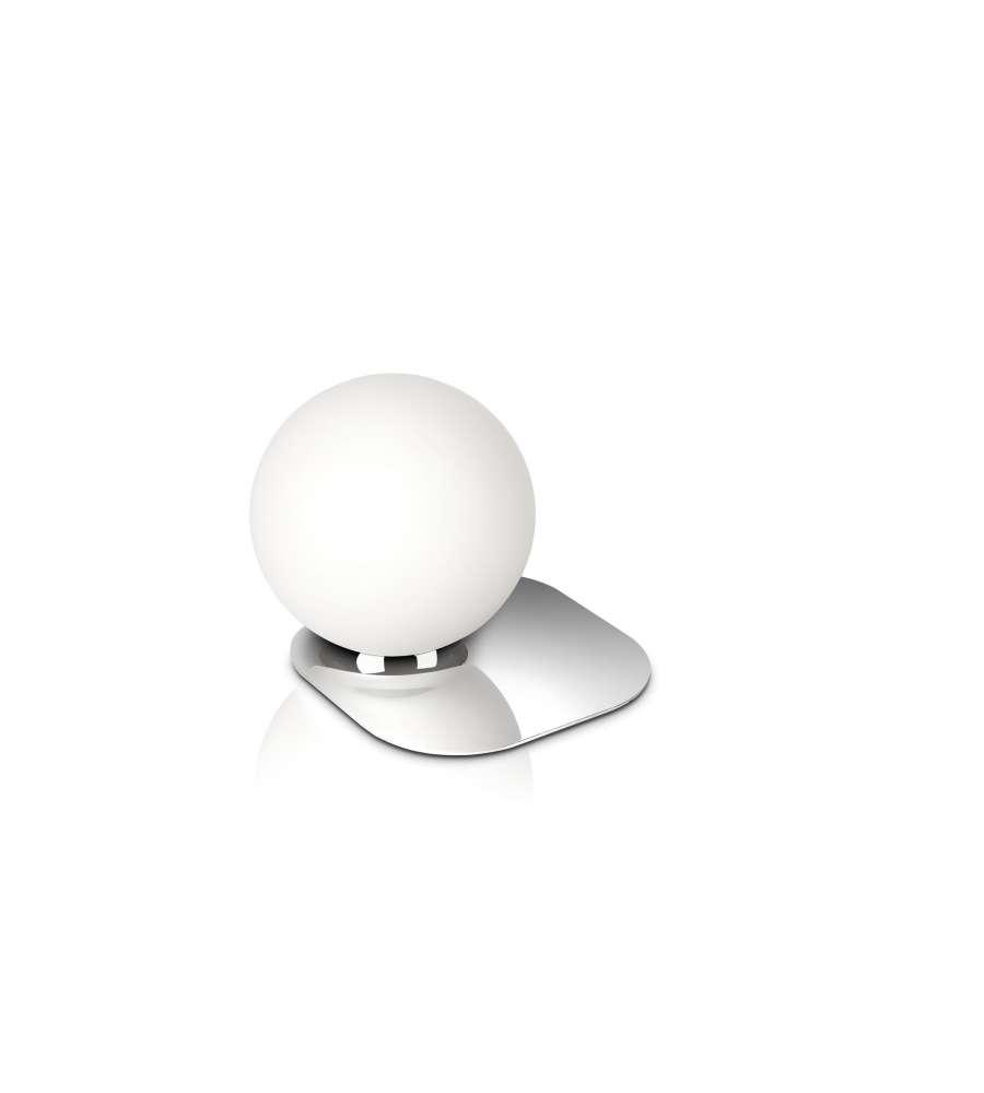 Philips wonder lampada da tavolo cromo palla 12w - Lampada da tavolo philips ...