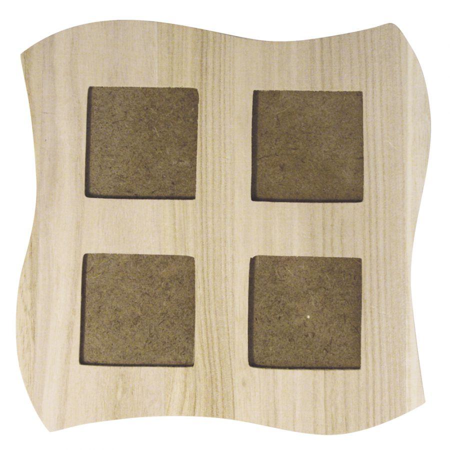 Cornice per foto in legno da decorare for Cornice foto legno