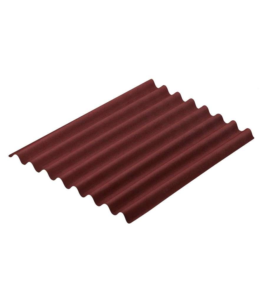 Onduline per tettoie gamma easyline colore rosso 100 for Obi pannelli legno