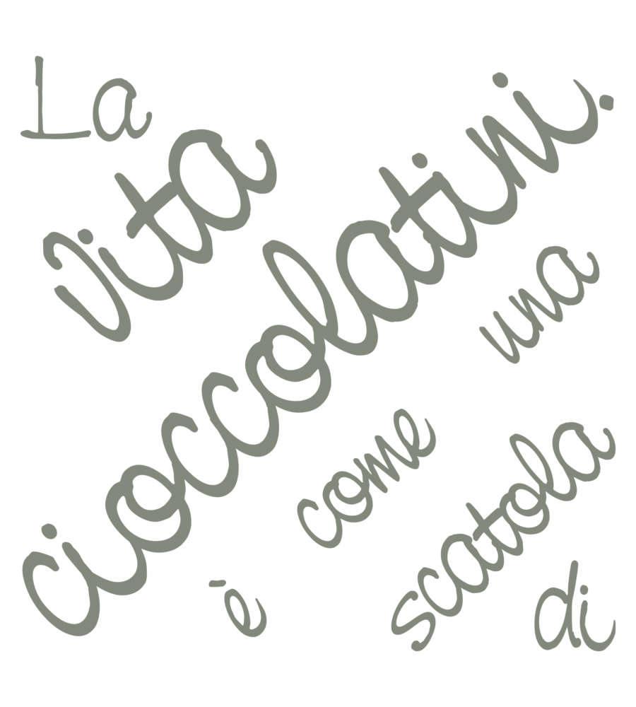 Stickers m words up cioccolatini decoro crearreda for Obi addobbi natalizi