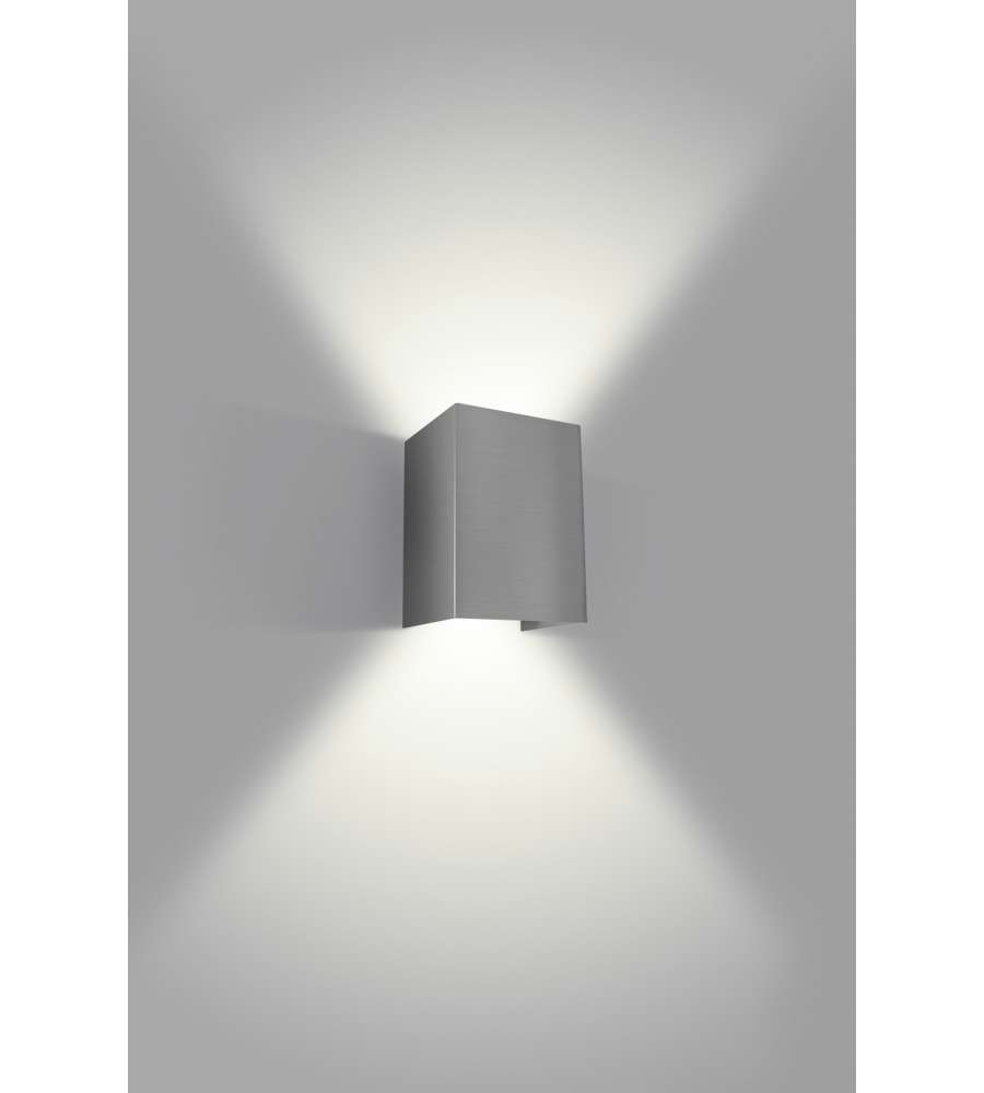Philips Hopsack Applique Led Acciaio - 3w.