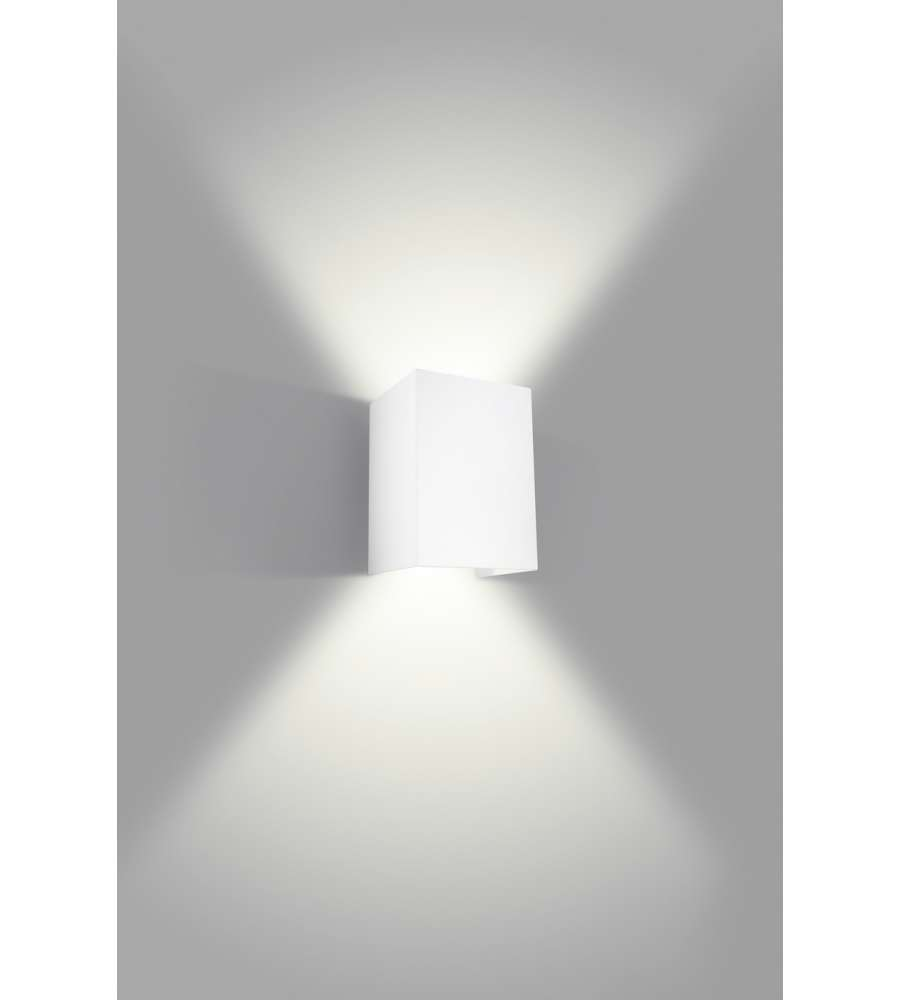 Philips hopsack applique led bianca 3w for Applique philips led