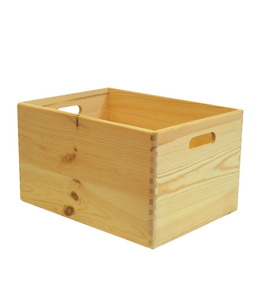 Cassetta Scatola In Legno Quot Wood Box Quot Senza Coperchio