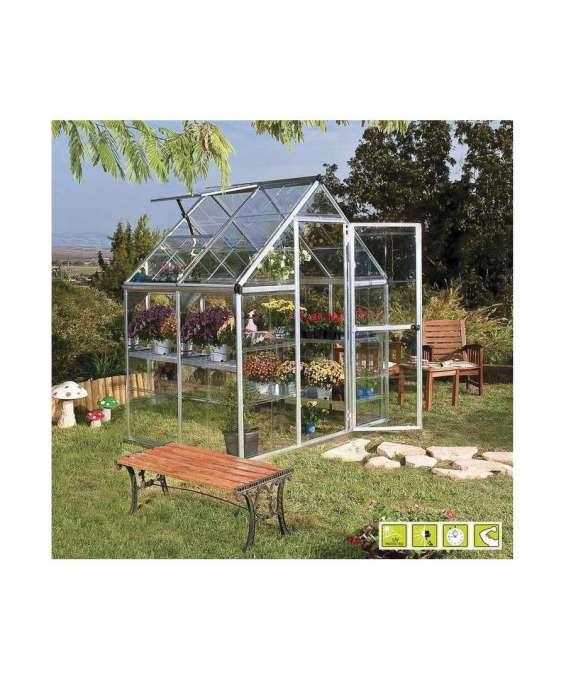 Serra per giardino in policarbonato doritis mini for Prodotti per giardino