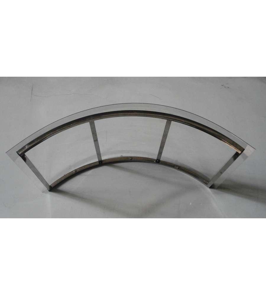 Pensilina ad arco per esterno 120 x 100 rotonda for Eurobrico arco