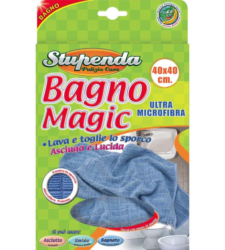 Panno magic bagno 40x40cm - Prodotti pulizia bagno ...