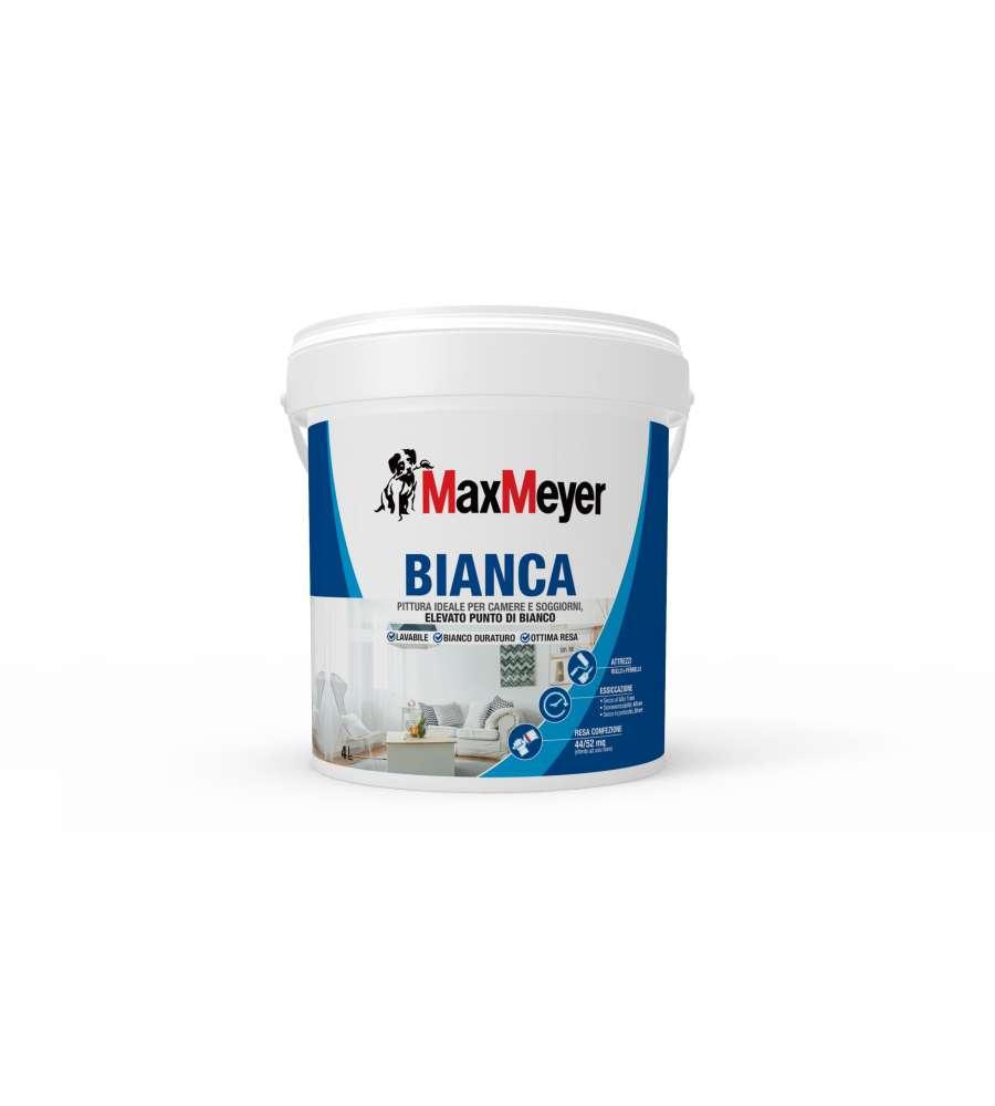 Pittura lavabile di colore bianco 4 litri - Pittura lavabile bagno ...