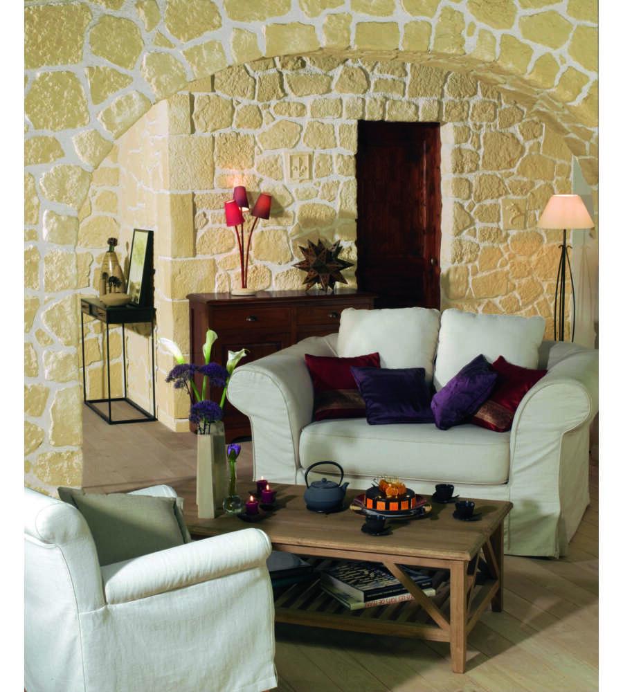 Rivestimento arco finta pietra - Stuccare piastrelle bagno ...