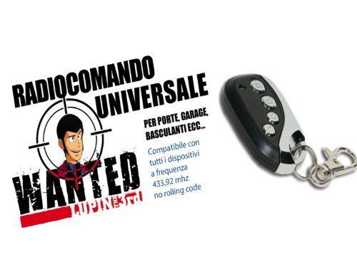 Radiocomando universale lupin iii for Spranga universale per porte