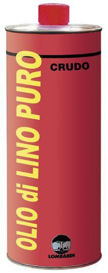 Olio di lino crudo 1 litro lombardi - Olio di lino per mobili ...