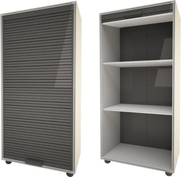 Armadio in resina a serrandina for Progetta i tuoi mobili per ufficio