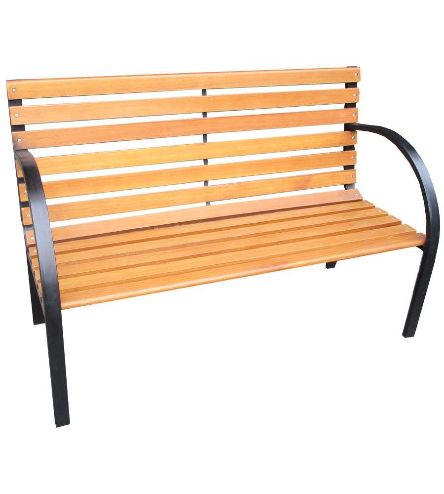 Offerta panchina in legno e ghisa for Panchine da giardino ikea