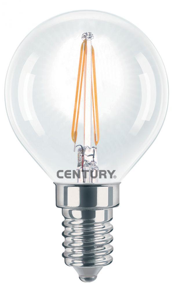 lampadina a led incanto minilampadina globo 2w e14 2700k 245 lm. Black Bedroom Furniture Sets. Home Design Ideas
