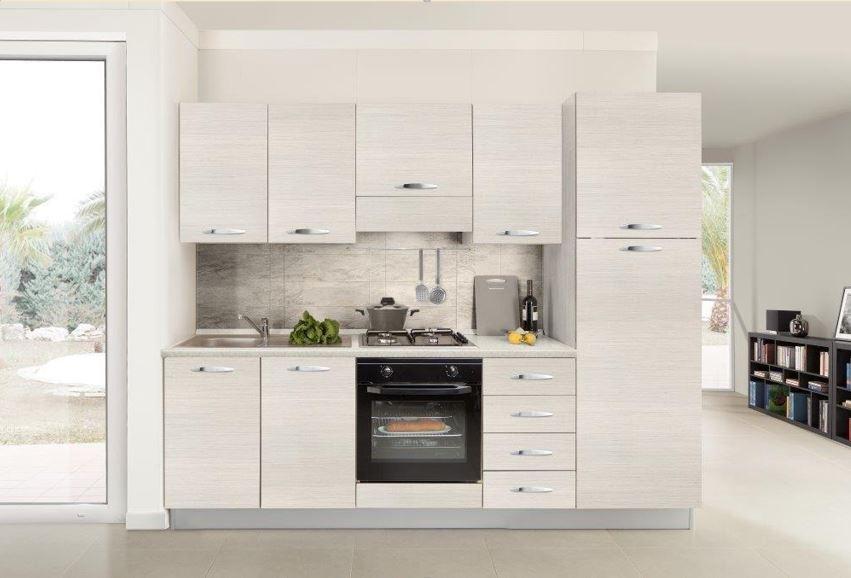 Offerta comp cucina ronny 255 dx - Cucina color panna ...