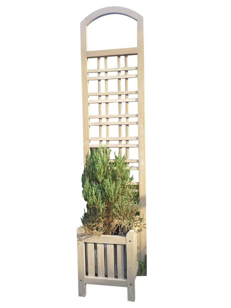 Offerta npomini fio c grigl siena 40x170cm grigio de for Fioriera con grigliato