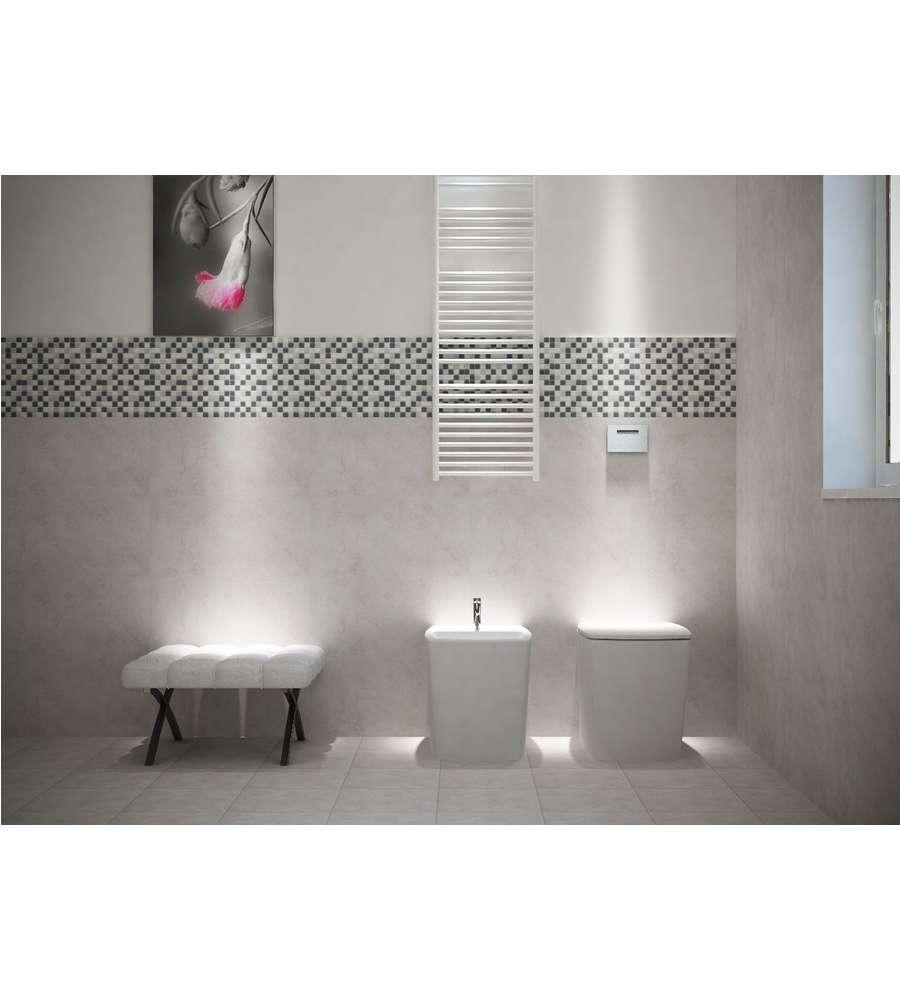 Piastrelle bagno grigio perla decora la tua vita - Piastrelle bagno grigie ...