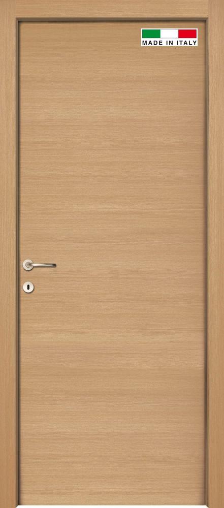 Porta Da Interno Rovere Orizzontale Reversibile 80x200 Cm