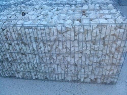 Offerta gabbione rett 100x20x50 c 12 ganci vuoto for Giardino rettangolare