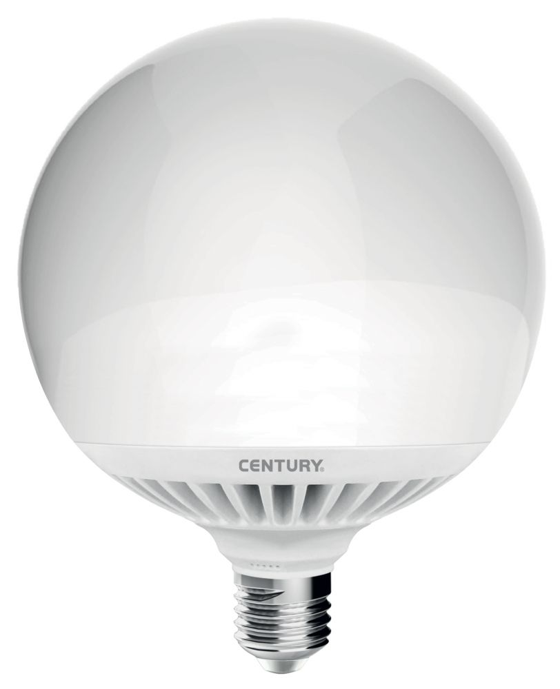 Lampadina globo aria led g145 24w e27 6000k 2150 lm for Lampadina e27 led