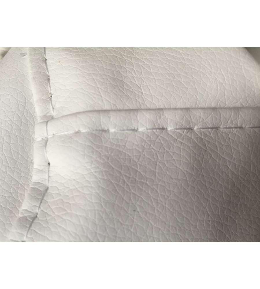 Poltrone Sacco E Pouf.Pouf Poltrona Sacco In Ecopelle 125 X 70 Lollo Bianco Made In