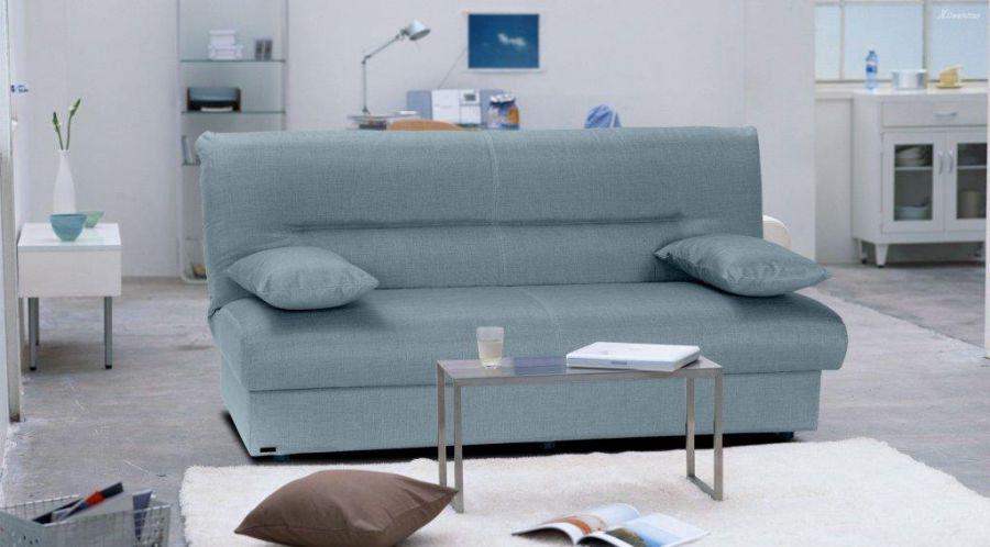 Divano letto da 3 posti regata blu ambra 195x88x94h cm - Divano letto blu ...