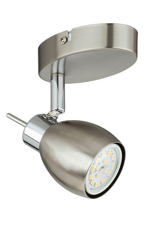 Faretto cromato con luce led spot ultra 1 x 5w 400 lumen for B b mobili montebelluna