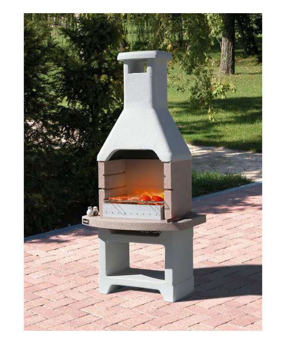 "Barbecue Sunday ""oasi Crystal"" In Muratura Per Esterno - 86x56x211h."
