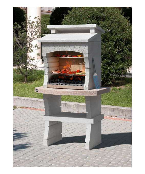 "Barbecue Sunday ""nairobi"" In Muratura Per Esterno - 98x62, 5x173h."